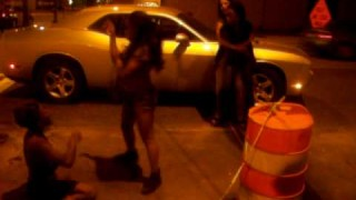 Strippers Fighting