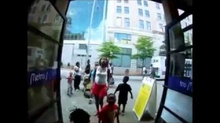 Hood Mother In Underground Atlanta Gets Tazed By Security Guard