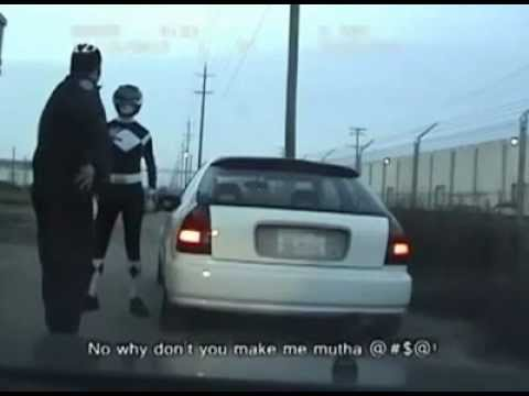 Power Ranger RUNS FROM THE POLICE!